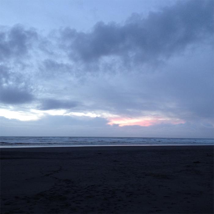 beach sunset Washington coast PNW