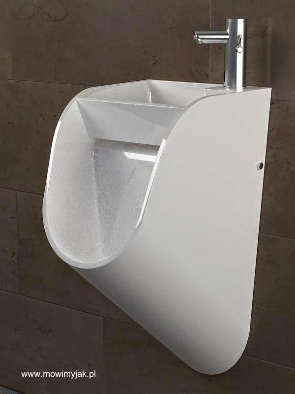 Mingitorio con lavabo integrado