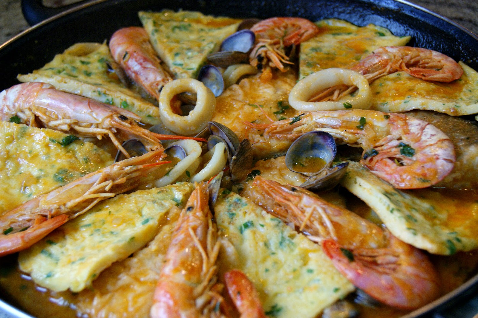 Anna recetas f ciles zarzuela de pescado for Cocinar zarzuela