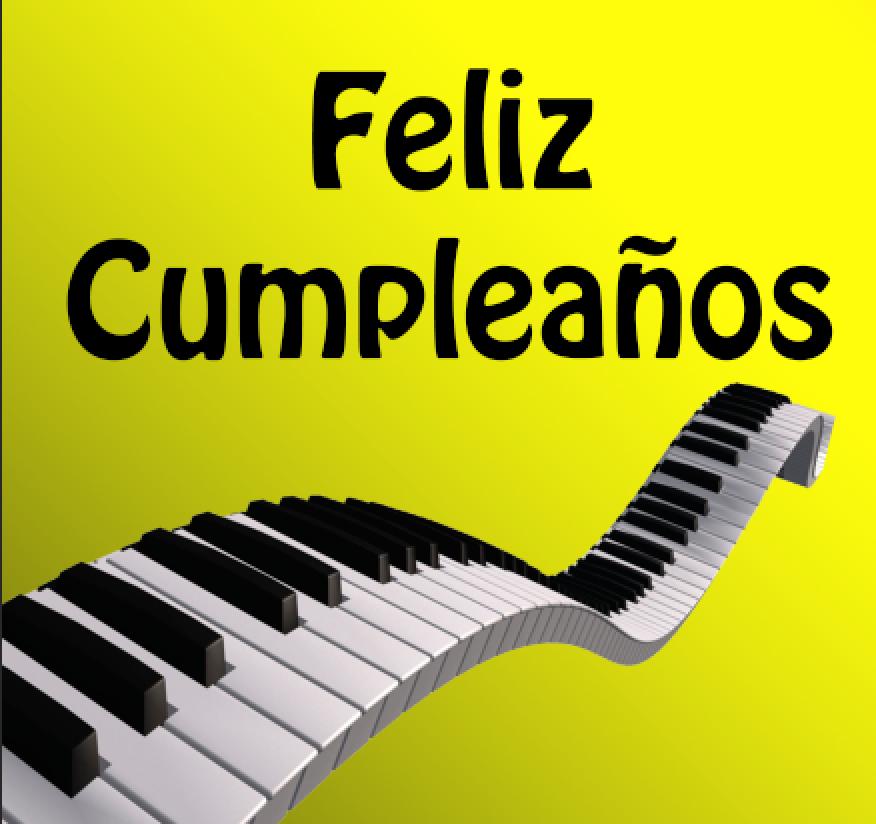 Quedamuchavida felicidades artista - Cumpleanos feliz piano ...
