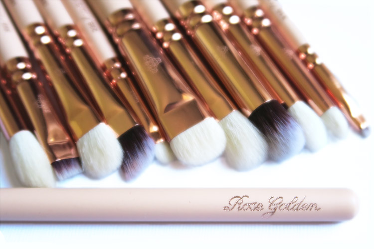 Zoeva Rose Golden Eye Brushes Set Collection Vol.2 Makeup Brushes