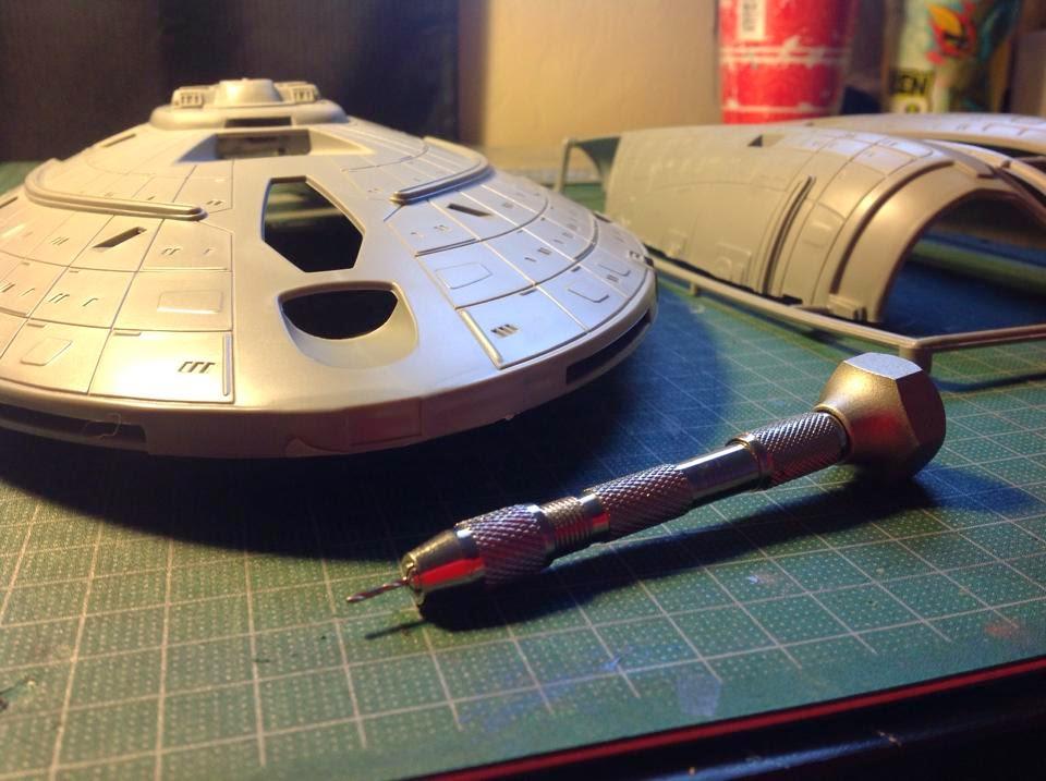 Star Trek, Voyager, Scale model, Revell, Plastic Model,