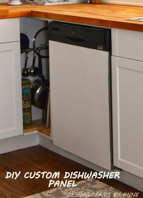 Designdreams By Anne Diy Removable Customizable Dishwasher Panel