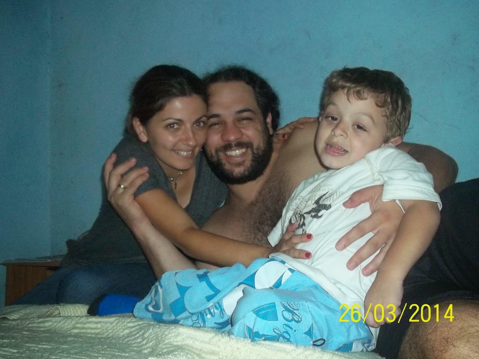 Foto con mis papis
