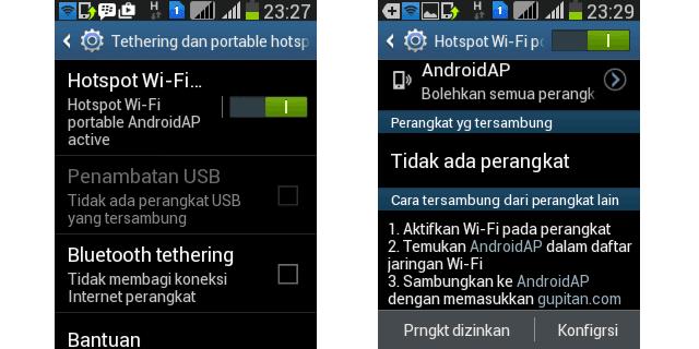 Cara Mengaktifkan Wi-Fi Hotspot di Android