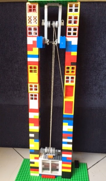 Rope And Pulley Elevator : Learning is fun may