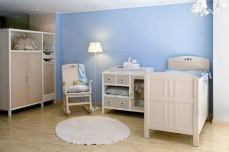 Como amueblar y decorar habitacion de bebe aprender hacer bricolaje casero - Lamparas habitacion bebe ...