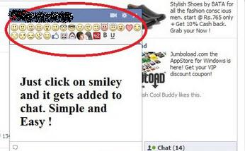 how to put emoticons on facebook comments