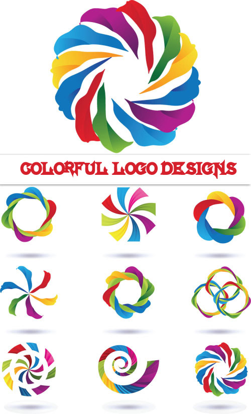 Quality Graphic Resources: Colorful Logo Designs
