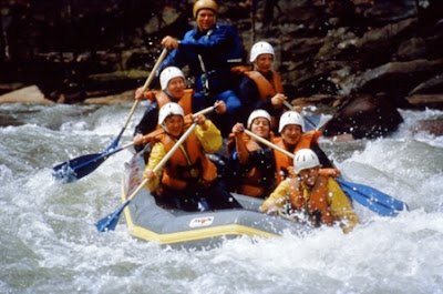 Health Benefit of White Water Rafting