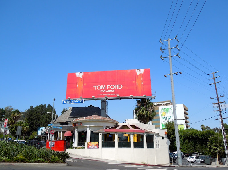 Tom Ford for Women FW 2012 billboard
