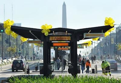 El Gobierno porteño dejó inaugurado el Metrobus de la 9 de Julio 0724_metrobus_telam_g.jpg_1853027551