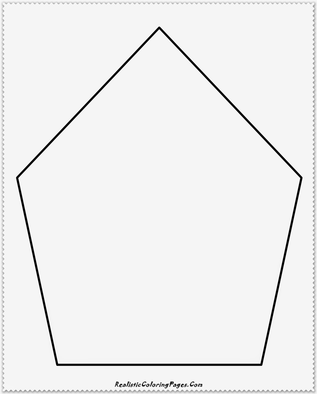 simple polygon coloring pages