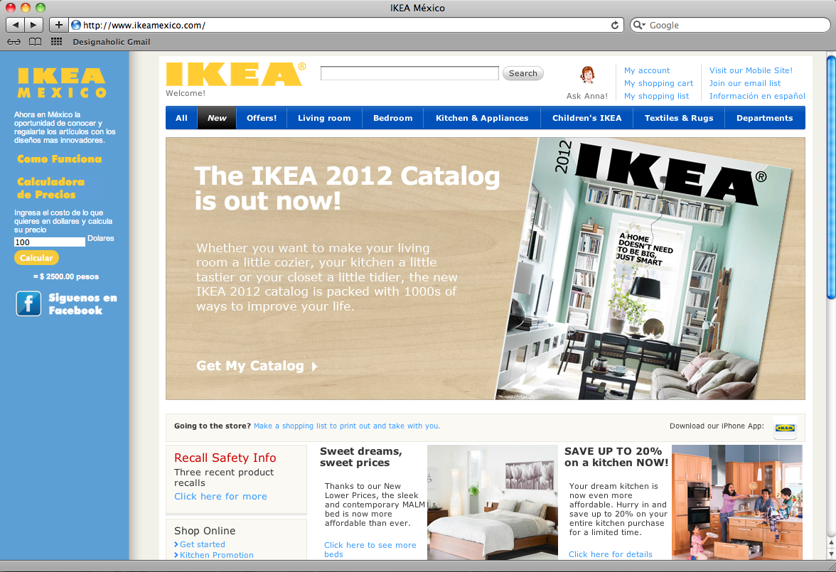 IKEA en México: la mentira y la discusión - DESIGNAHOLIC