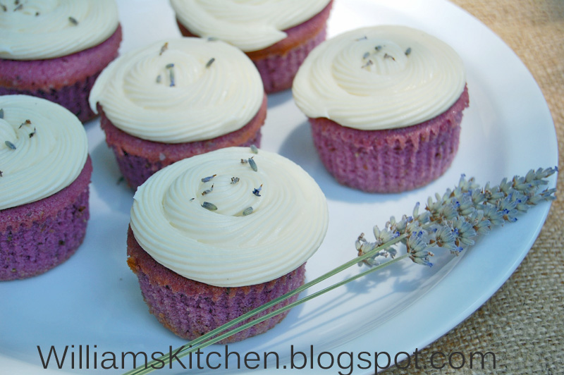 ... Kitchen - Made with love: Lavender Cupcakes with Honey Frosting