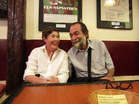 Con Pablo Guerrero, en las Jornadas sobre la Canción de Autor.