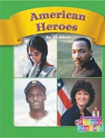 bookcover of American Heroes by Jo Albee