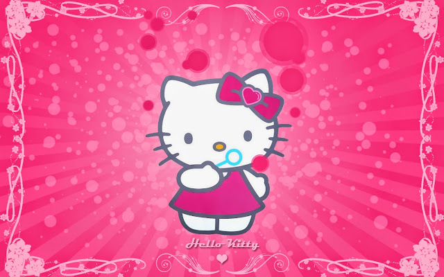 120392-Hello Kitty Bubbles HD Wallpaperz
