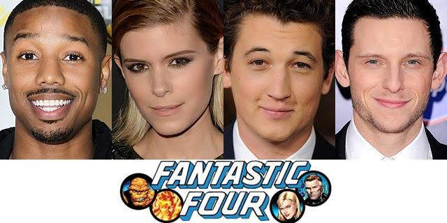 Casting Fantastic Four 2015