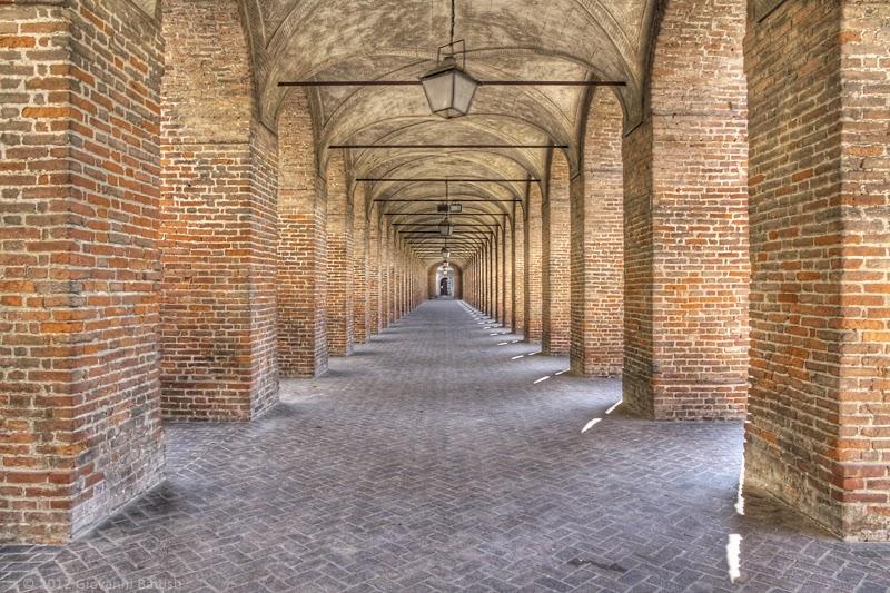 Fotografia del Corridor grande a Sabbioneta