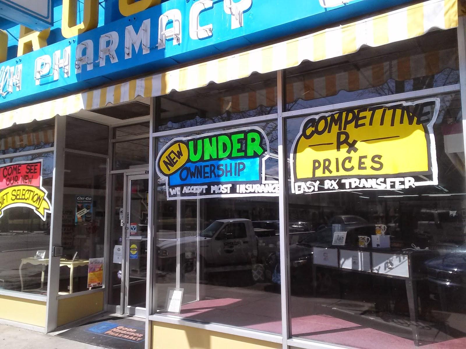 BH Pharmacy Spring Window