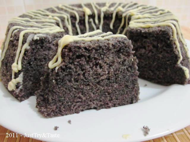 Brownies Kukus Ketan Hitam Pandan Resep Masakan ...