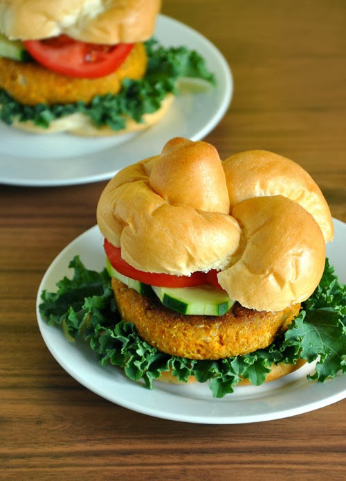 Homemade Pumpkin Burgers!