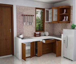 Cocinas en l peque as for Salas chiquitas modernas