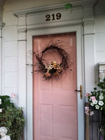 Cindy 39 s fractured fairy tale october 2011 for Fairy front door