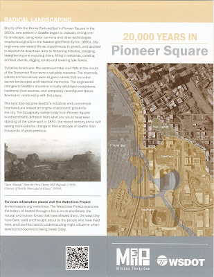 20,000 Years in Pioneer Square Brochure – Changes in the Shape of Seattle