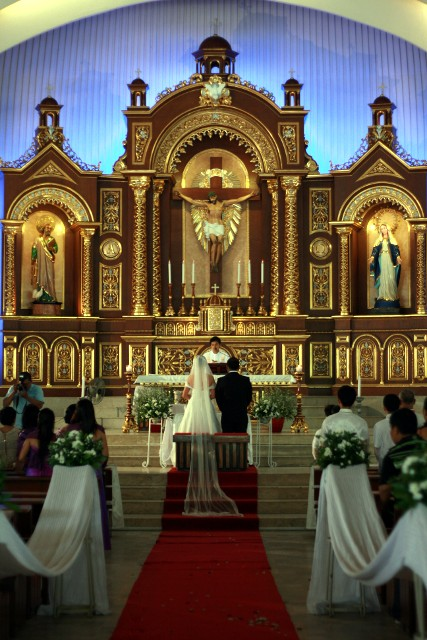 Featuring The New Altar Of San Pedro Cathedral