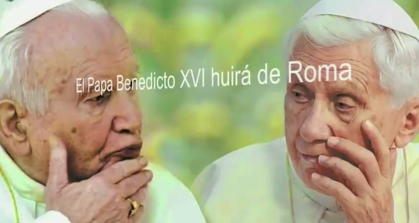 Profecia Cumplida - Papa Huirá de Roma