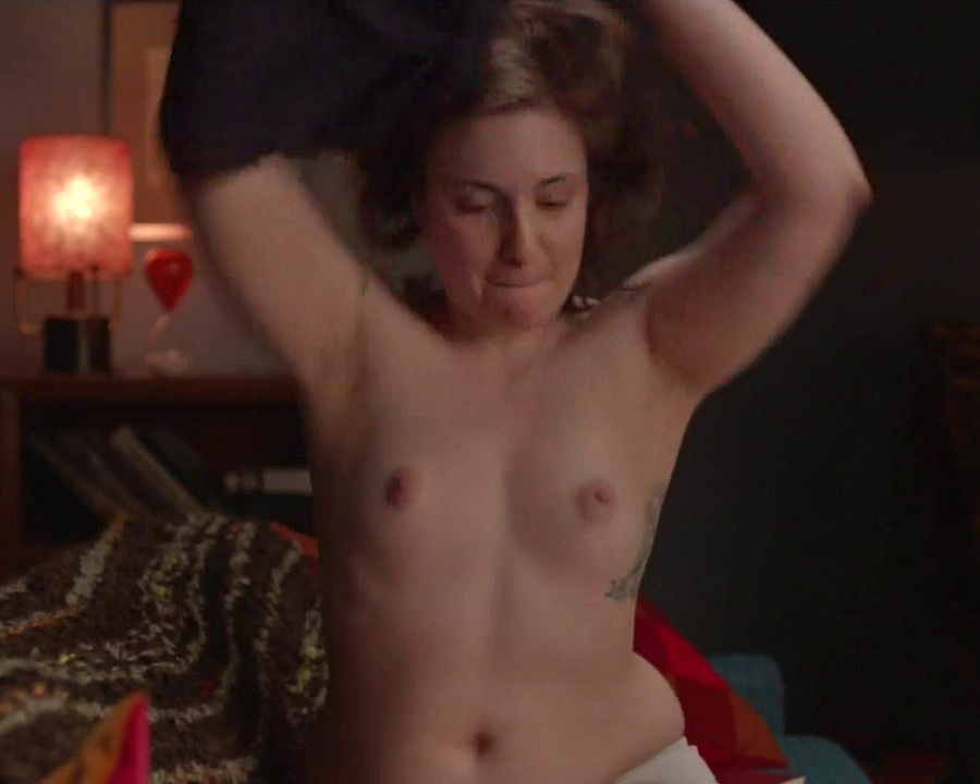 Lena dunham nude topless and sex in girls s03e10 2