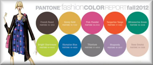 Color Year 2012 Twice a Year The Pantone Color