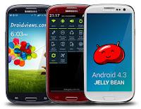 Galaxy S3 Android 4.3 Jelly Bean Güncellemesini Yükleme