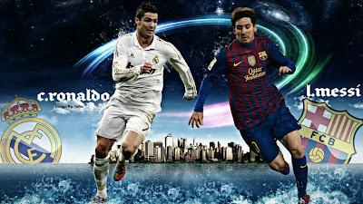 lionel messi vs cristiano ronaldo wallpapers its all