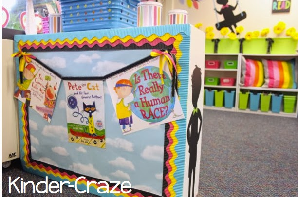 book cover banner for rainbow classroom library