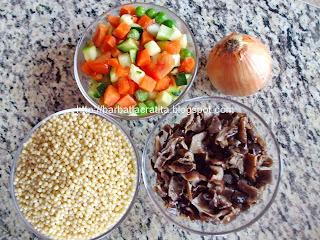 Cuscus cu legume Cous-cous ingrediente