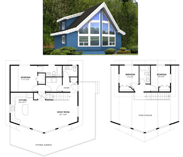 planos de casas de dos pisos en chile