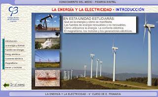 La energía en Clarionweb.