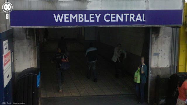 Wembley Central station on the Bakerloo line of the London Underground