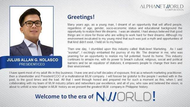 Crusaders Nworld CEO President