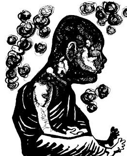 တေယာထုိးေနတဲ့ နီရုိးေတြဖတ္ဖုိ ့ကဗ်ာ (Zay Hmine)