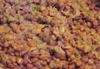 Cuban-style lentils
