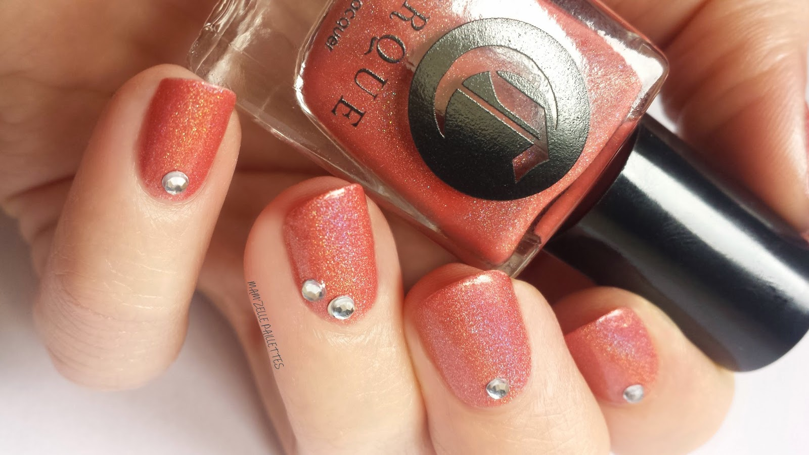 vernis holo corail