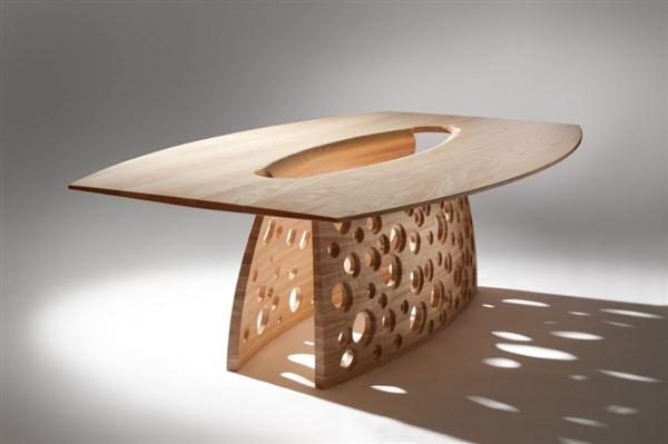 modern wood furniture design. hollow table legs inspired by rock erosion and sedimentation. here\u0027s let\u0027s take a look at photos of modern furniture design john lee below. wood o