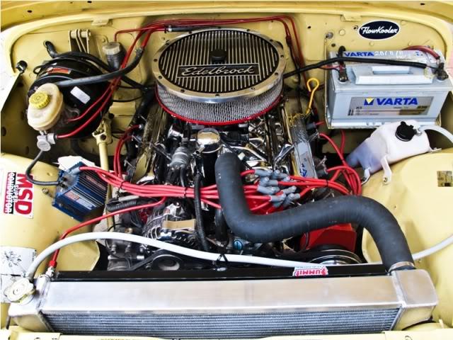 jeep cj7 amc 360 dosop dosop oem distributor amc 360 jacobs ultra coil msd 6al msd spark plug wires custom aluminium radiator custom exhaust