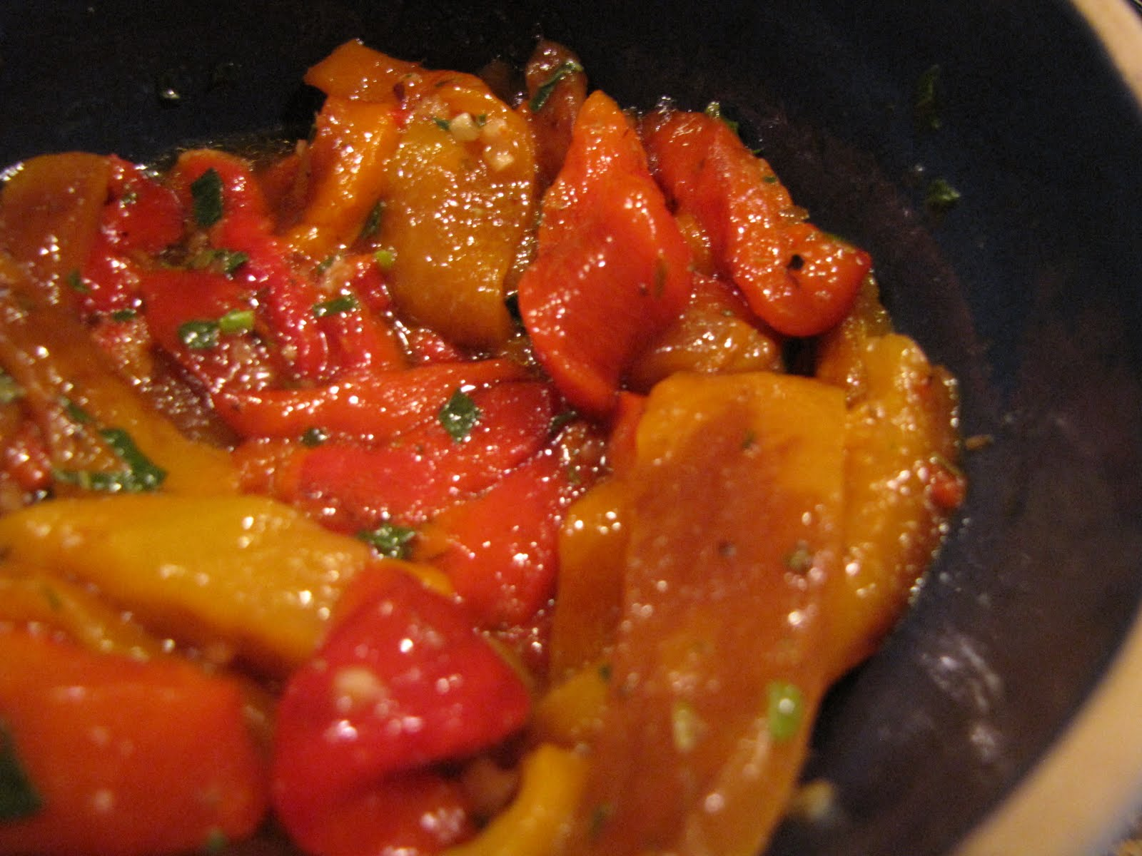 Kay's Keepers: Roasted Sweet Pepper Salad
