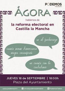 Ágora sobre la reforma electoral