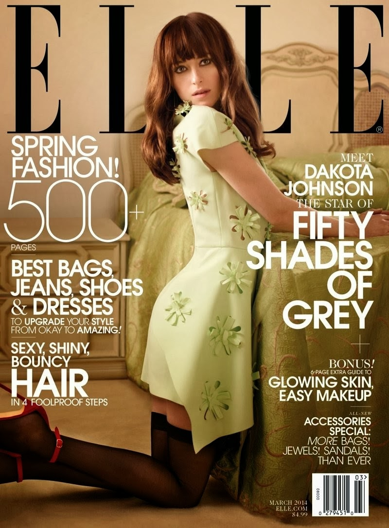 Dakota Johnson HQ Pictures Elle  Magazine Photoshoot March 2014